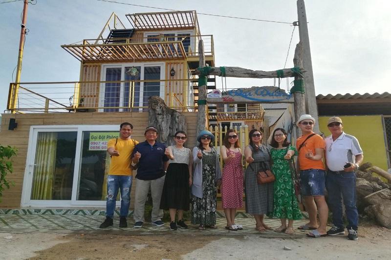 gia đình villa đại dương